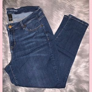 Lane Bryant Low Rise Straight Jeans